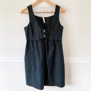 Anthropologie black dress